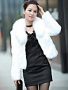 Wedding Faux Fur Shrugs Long Sleeve Wedding  Wraps / Fur Coats