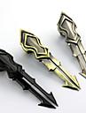 Vapen Inspirerad av LOL Cosplay Animé/ Videospel Cosplay Accessoarer Vapen Svart / Silver Legering Man / Kvinna