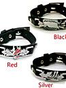 Bijoux Inspire par Attack on Titan Cosplay Anime Accessoires de Cosplay Bracelets Noir / Rouge / Argente Alliage / Cuir PUMasculin /