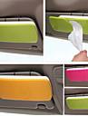 support de papier pour la boite de tissu de pare-soleil de voiture avec porte-accessoires automobiles clip