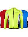 Hauts/Tops de Cyclisme/Velo / Hors piste / Moto / triathlon / Ski de fond Unisexe Manches longues Vert / Rouge / BleuRespirable / Sechage