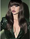 vacker stil naturliga färg peruk bär kvinnor lady syntheic peruk slog