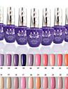 1 PCS ANA 192 Colors Gelpolish Nail Art Soak Off UV Nail Gel Polish 15ml 1-24
