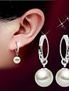 Pentru femei Cercei Picătură Perle Design Basic Pietrele Lunilor La modă stil minimalist Perle Plastic Minge Bijuterii PentruNuntă