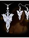 Smycken Set Akrylfiber Legering Dekorativa Halsband Örhängen För Party Dagligen Casual 1set Bröllopsgåvor