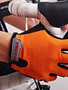 NUCKILY® Aktivitet/Sport Handskar Dam Herr Cykelhandskar Vår Sommar Höst CykelhandskarStötsäker Andningsfunktion Slitsäker Bärbar