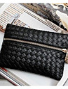 Women PU Clutch / Evening Bag Black
