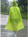 genomskinlig mode vuxna eva män och kvinnor utomhus till fots regnrock mode päls huva poncho vattentät jacka
