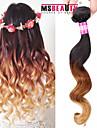 """1 pc / lot 16 """"-24"""" 7a 3t cheveux bresilienne vierge vague lache cheveu humain trames de 100% les cheveux remy bresiliens tisse non"""