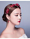 Red Flower Wedding / Special Occasio/Honeymoom Outdoor Flowers / Wreaths/Headpiece