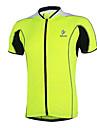 Maillot de Cyclisme Homme Manches courtes Velo Respirable Sechage rapide Maillot Hauts/Tops Terylene Mosaique Printemps Ete Automne Hiver