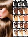 anna 7st brasiliansk klipp i mänskliga hårförlängningar brasilianska rakt hår klipp i förlängningen 70g virgin hårknippena