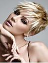 nouveau produit Blond Courts synthetique extensions perruque vague de qualite superieure