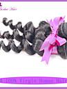 3st mycket billig hår extention peruanska löst våg naturligt svart jungfru människohår högkvalitativ 7a kvalitet