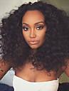 2016 Premier avant de lacet perruques affrodable nouvellement concus 4-26inches partie mediane air boucles pour les femmes noires