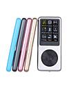 8g mp3 mini lettore klipp usb LCD-skärm uppladdningsbara FM-radio / röstinspelning spelare (diverse färg)