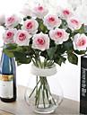 konstgjord blomma lång stjälk diverse rosor - utan vas 1st / set
