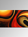Peint a la main Abstrait / FantaisieModern Un Panneau Toile Peinture a l\'huile Hang-peint For Decoration d\'interieur