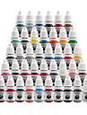 Solong tatuering hög kvalitet tatuering bläck kit pigment in 8ml 40 färg för tatueringsmaskin kit