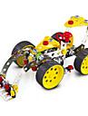 Pussel 3D-pussel / Metallpussel Byggblock DIY leksaker Bilar 146pcs Metal Silver / Vit / Rosa Modell- och byggleksak