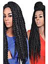 80g / st havana mambo twist fläta hår syntetisk annan färg Kanekalon kinky marley vändningar fläta hårförlängning