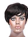 2016 hot kris stil pixes korta peruker 6-8inches 8a brasilianskt jungfru människohår fullt spets front peruker