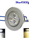 Takglödlampa 3 Högeffekts-LED 300 lm Varmvit / Kallvit Dimbar / Dekorativ AC 220-240 / AC 110-130 V 1 st