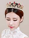 Mujer Nina de flor Diamantes Sinteticos Aleacion Celada-Boda Ocasion especial Tiaras 1 Pieza