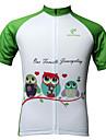 JESOCYCLING® Cykeltröja Dam Kort ärm CykelAndningsfunktion / Snabb tork / Ultraviolet Resistant / Antistatisk / Lättviktsmaterial / Back