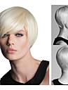 kort rakt hår blont African American peruker för kvinnor sw0017