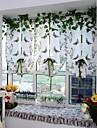 En panel Europeisk Kurva / Vinranka Enligt bilden Living Room Polyester Sheer gardiner Shades