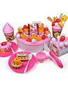fruit coupe gateau lait / chocolat / decoration jouets de jeu semblant jouets de bricolage fixes (73 pcs)
