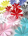 Botanique Stickers muraux Stickers muraux 3D Stickers muraux decoratifs Materiel Amovible Decoration d\'interieur Calque Mural