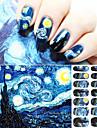 Tecknat / Abstrakt / Punk / Vackert-Finger-Andra Dekorationer- avAndra-1- styck14.5*7.5- cm