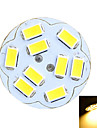 2W G4 LED a Double Broches Encastree Moderne 9 SMD 5730 100-200 lm Blanc Chaud / Blanc Froid Decorative DC 12 / AC 12 V 1 piece