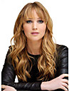 Monofilament Top (1inch)Casual Long Curly Hairstyle Human Virgin Remy Hair Capless Wig