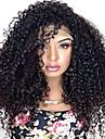 kvinnor spets front peruk 10inch ~ 24inch india hårfärg (# 1 # 1b # 2 # 4) vinkar djupt hår