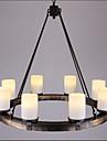 40W Hängande lampor ,  Rustik Målning Särdrag for Ministil MetallLiving Room / Bedroom / Dining Room / Sovrum / Matsalsrum /