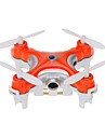 Drone Cheerson CX-10c 4 Canaux 6 Axes 2.4G Avec Camera Quadrirotor RC Vol Rotatif De 360 Degres / Avec Camera Noir / Orange