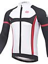 XINTOWN® Cykeltröja Herr Lång ärm Cykel Andningsfunktion Snabb tork UV-Resistent Begränsar bakterier Tröja Överdelar Klädesset/Kostymer
