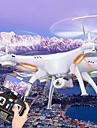 SYMA X5SW Drönare 6 Axel 4 Kanaler 2.4G Radiostyrd quadcopterLED-belysning / Retur Med Enkel Knapptryckning / Headless-läge / 360-Graders