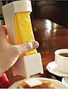 un clic beurre cutter slicer - tranches w / un resserrement - doubles comme beurrier