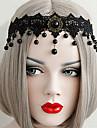 Bijoux Gothique Coiffure Inspiration Vintage Noir Lolita Accessoires Casque Lace Pour Femme Dentelle