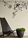 AYA™ DIY Wall Stickers Wall Decals, Florals Pattern PVC Wall Stickers
