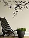 Botanisk / Romantik / Fashion / Blommig / abstrakt Wall Stickers Väggstickers Flygplan,PVC S:30*55cm / M:56*107cm / L:75*140cm