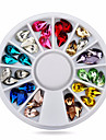 1wheel drop tear nail decorations-Bijoux pour ongles-Doigt- enAdorable-6cm wheel