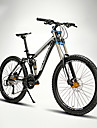 Mountain Bike Cycling 24 Speed 26 Inch/700CC 60mm Men\'s / Unisex Adult EF51-8 Double Disc Brake Suspension ForkFull Suspension /