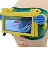 svetsning verktyg blå sol li batteri auto mörkn tig mig mma svetsare ögon mask / goggle / ögon glasögon