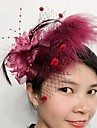 Women\'s Feather Net Headpiece-Wedding Special Occasion Fascinators 1 Piece