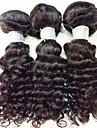 Tissages de cheveux humains Cheveux Bresiliens Boucle 6 Mois 3 Pieces tissages de cheveux